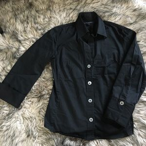 3/4 sleeved button up